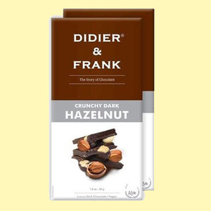 Didier & Frank Hazelnut Dark Chocolate