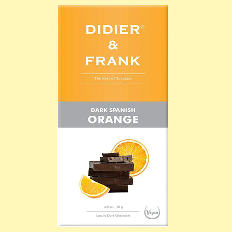 D& F Spanish Orange Dark Chocolate (100gm)