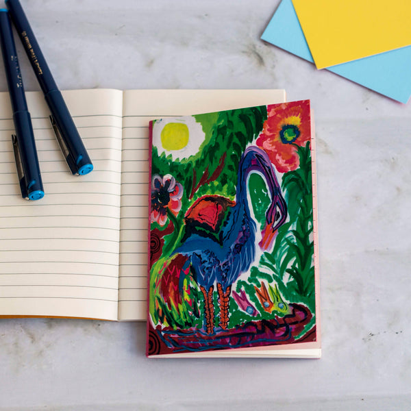 A-6 Size Hand Painted Notebook (Set Of 2)