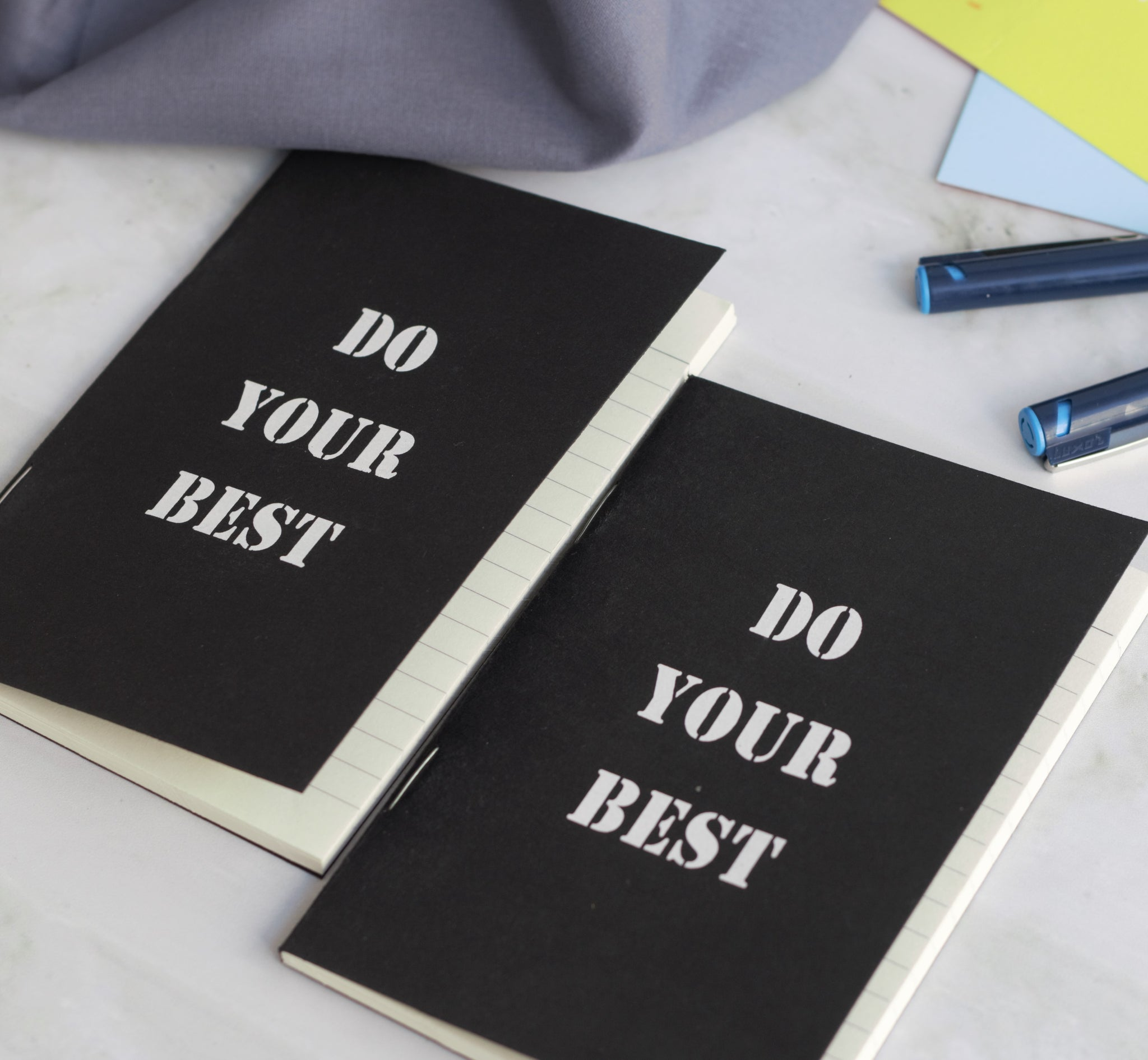 'Do Your Best' A5 Notebook - Set of 2
