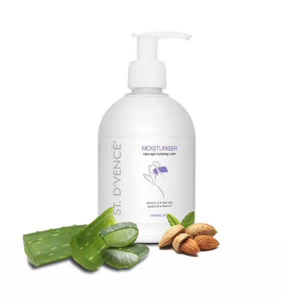 Body Lotion with Almond Oil & Aloe Vera