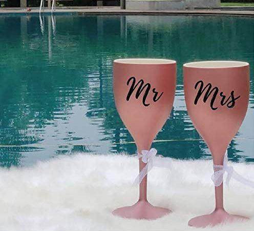 Unbreakable Soul Mates Wine Glasses
