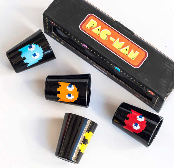 Pac-Man Shot Glasses (Set of 4)