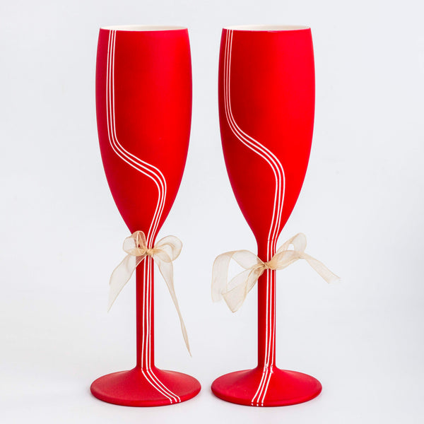 Unbreakable Champagne Flutes