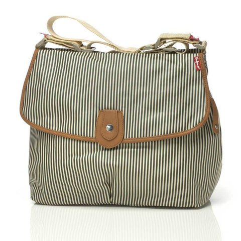 Babymel Satchel Stripe Navy