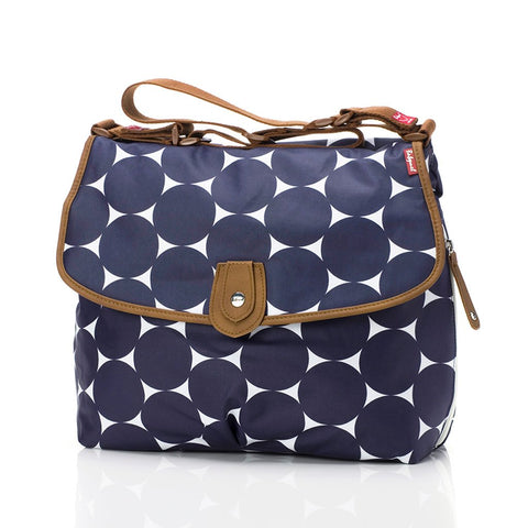 Babymel Satchel Jumbo Dot Navy