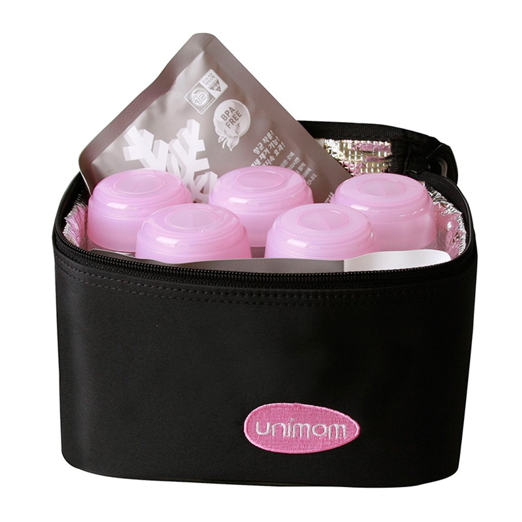UNIMOM Cooler Bag (5pcs bottles and 2 ice packs)