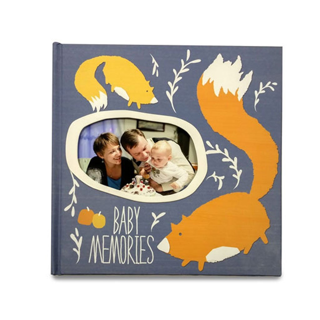 GIFTHING PLAYFUL FOX 1ST YEAR MEMORY BOOK