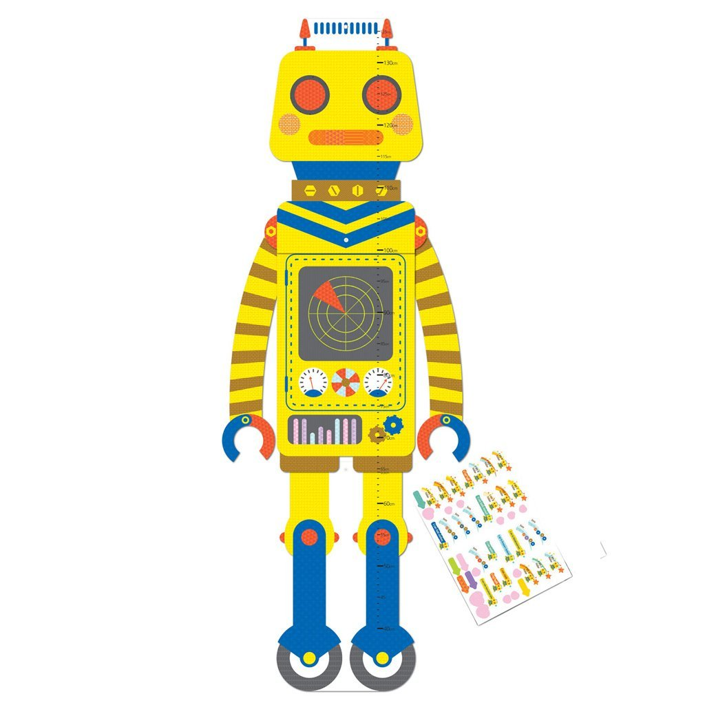 GIFTHING ROBOT GROWTH CHART