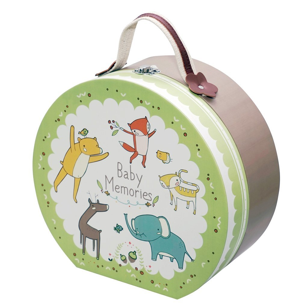 GIFTHING FOREST FRIENDS ROUND HAMPER