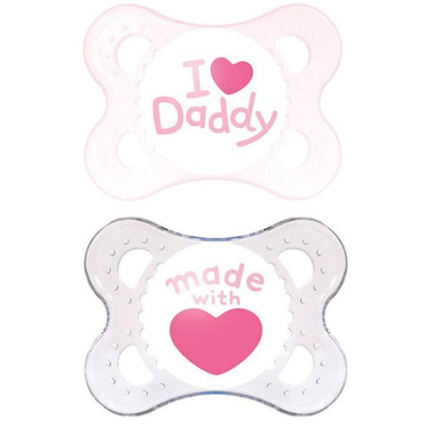 MAM AFD2302 MAM TWIN ORIGINAL PACIFIER PACIFIER SILK TEAT +2MT