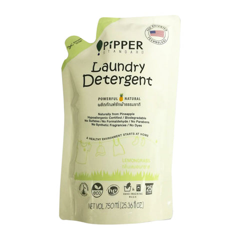 PIPPER PiPPER Laundry Detergent Lemongrass 750ml