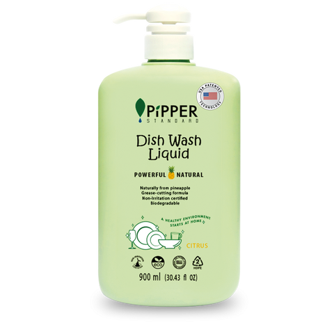 PIPPER PiPPER Dish Washing Liquid Citrus 900ml