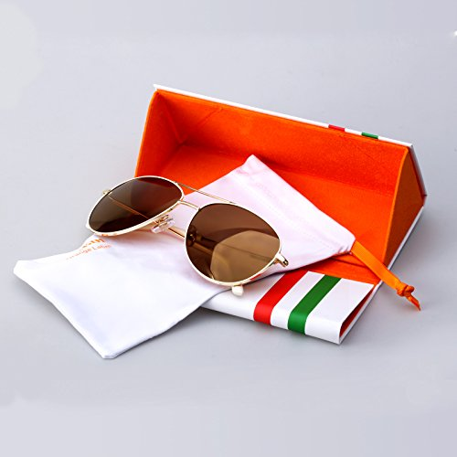 Classic Polarized Sunglasses Metal Frame 2018 - Colossein Fashion polarized Sunglasses Vintage  Retro handcraft for men women