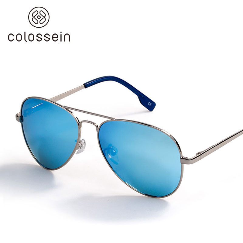 COLOSSEIN Classic Pilot Style Polarized Street Fashion Sunglasses - Colossein Fashion polarized Sunglasses Vintage  Retro handcraft for men women