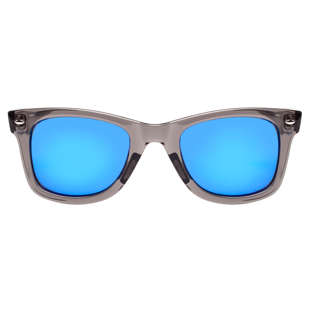 Retro Classic Sunglasses For Men Women Rivet Trim UV400 For Small Face By Blue Label