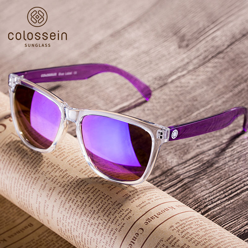 Colossein Fashion polarized Sunglasses Vintage  Retro handcraft for men women