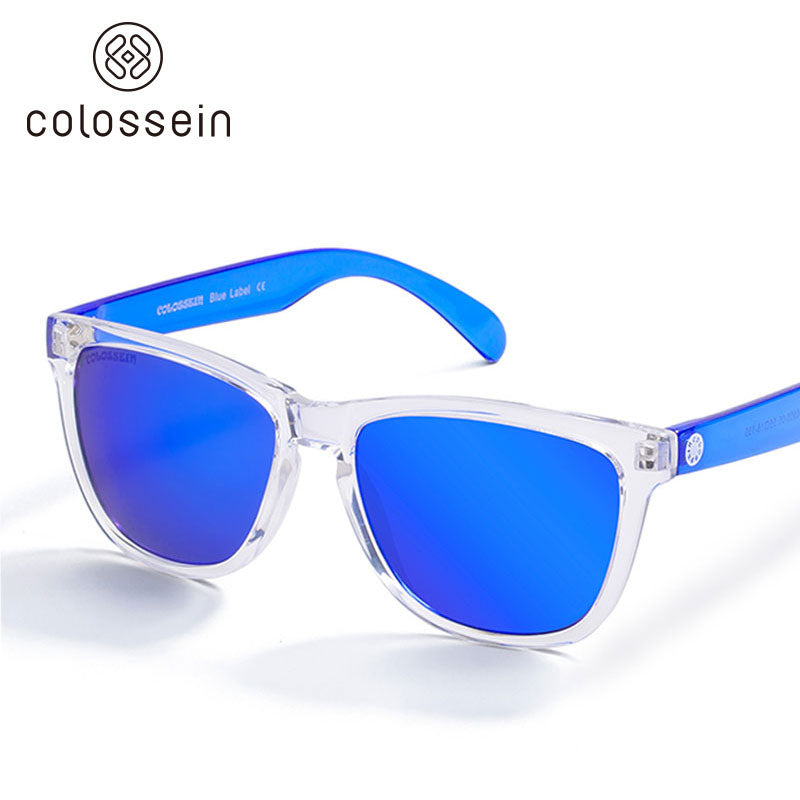 Blue Label Collection Fashion Sunglasses 2018 - Colossein Fashion polarized Sunglasses Vintage  Retro handcraft for men women