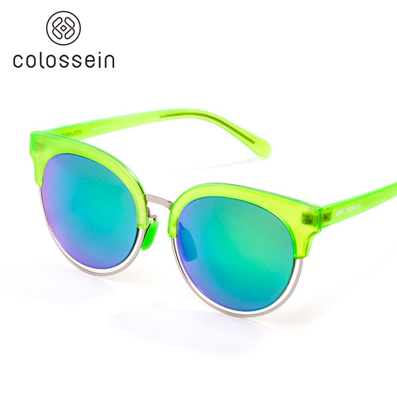 Colossein Fashion Sunglasses for women TR Frame Polarized Lens - Colossein Fashion polarized Sunglasses Vintage  Retro handcraft for men women