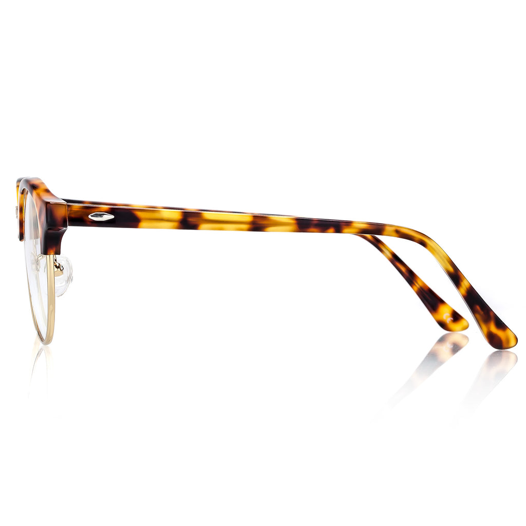 Optical Glasses light Acetate frame  Trim with clean lens