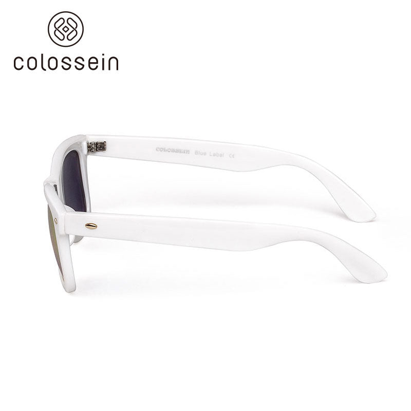 COLOSSEIN Classic Square Leopard Pattern Frame Fashion Sunglasses - Colossein Fashion polarized Sunglasses Vintage  Retro handcraft for men women