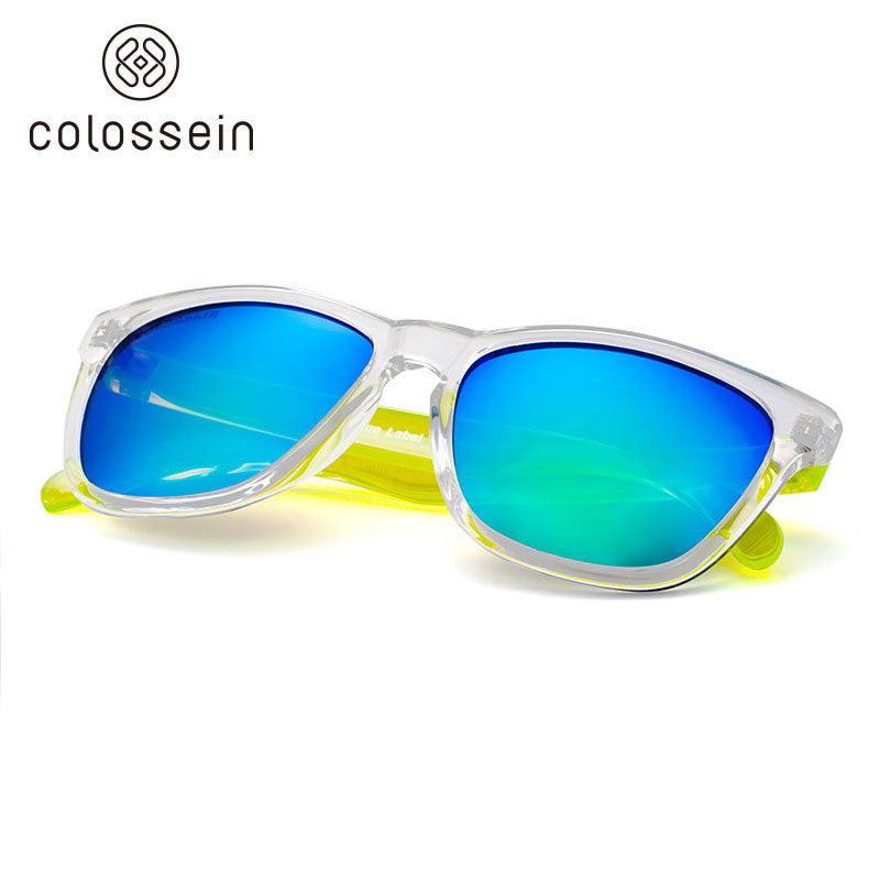 Blue Label Collection Fashion Sunglasses 2018 Mirror Lens - Colossein Fashion polarized Sunglasses Vintage  Retro handcraft for men women
