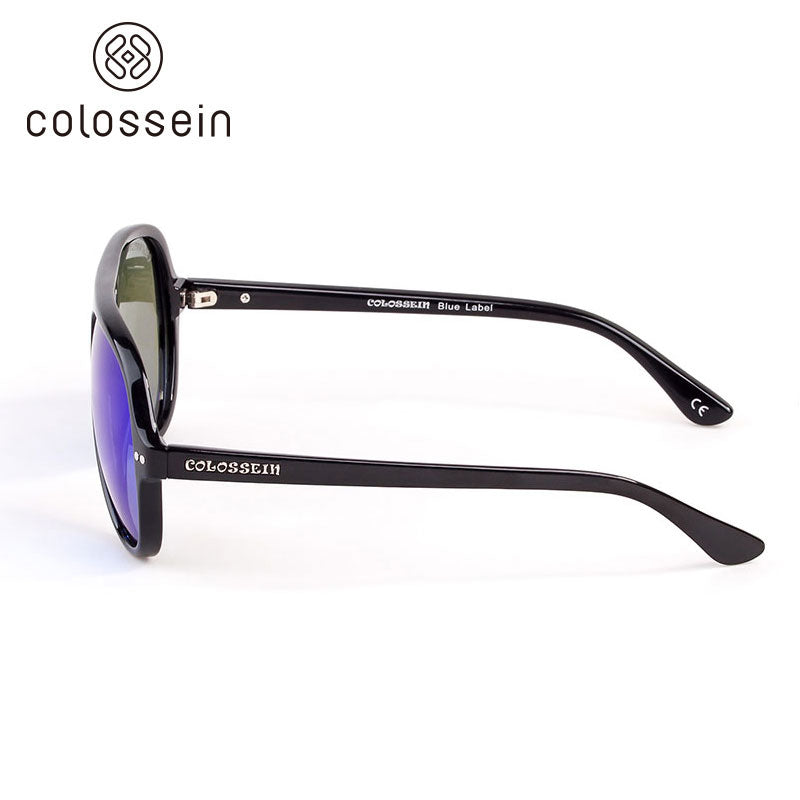 COLOSSEIN Classic Style Polarized Fashion Sunglasses - Colossein Fashion polarized Sunglasses Vintage  Retro handcraft for men women