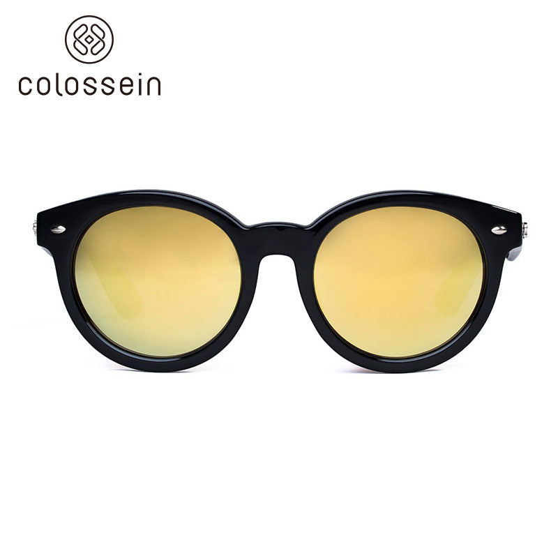 e1d19ab6cf COLOSSEIN Retro Round Polarized Lens Eyewear Sports Sunglasses - Colossein  Fashion polarized Sunglasses Vintage Retro handcraft