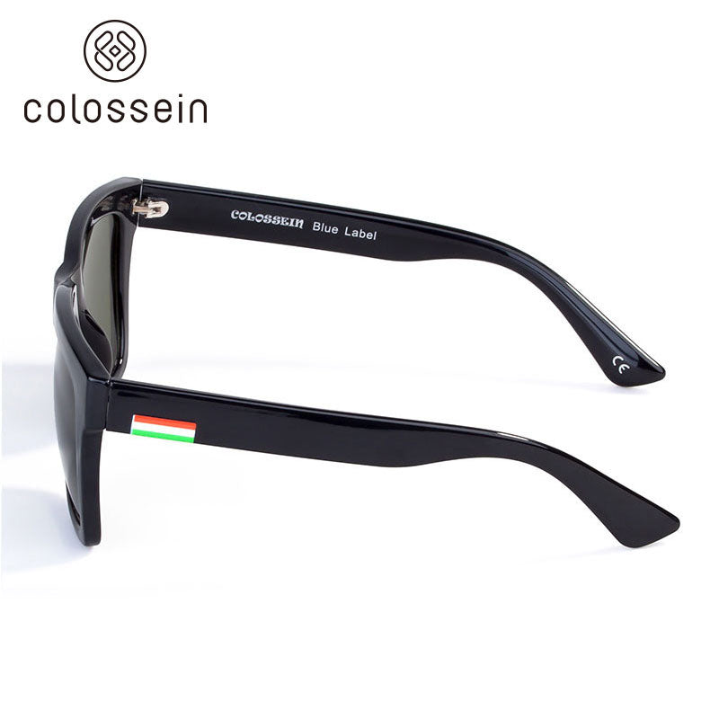 COLOSSEIN Summer High Quality Polarized Lens Fashion Sunglasses - Colossein Fashion polarized Sunglasses Vintage  Retro handcraft for men women
