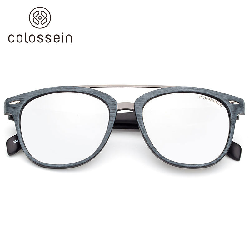 COLOSSEIN Retro Round Polarized Fashion Sunglasses - Colossein Fashion polarized Sunglasses Vintage  Retro handcraft for men women