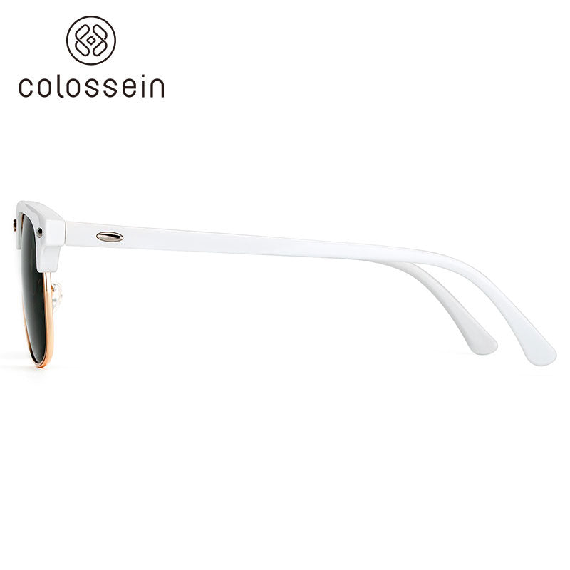 COLOSSEIN Fashion Sunglasses Retro Polarized Lens - Colossein Fashion polarized Sunglasses Vintage  Retro handcraft for men women