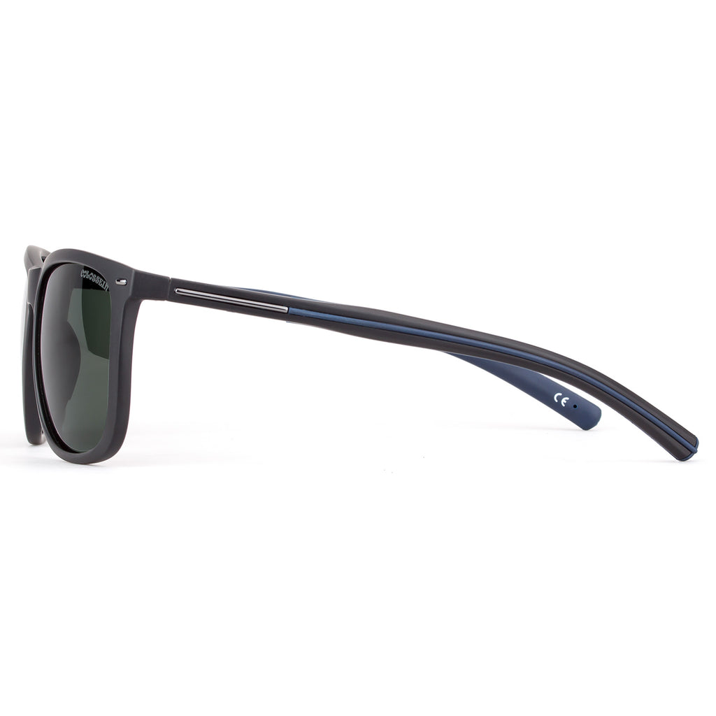Polarized Sunglasses for men TR90 with Silicon Materials Frame,Super Light