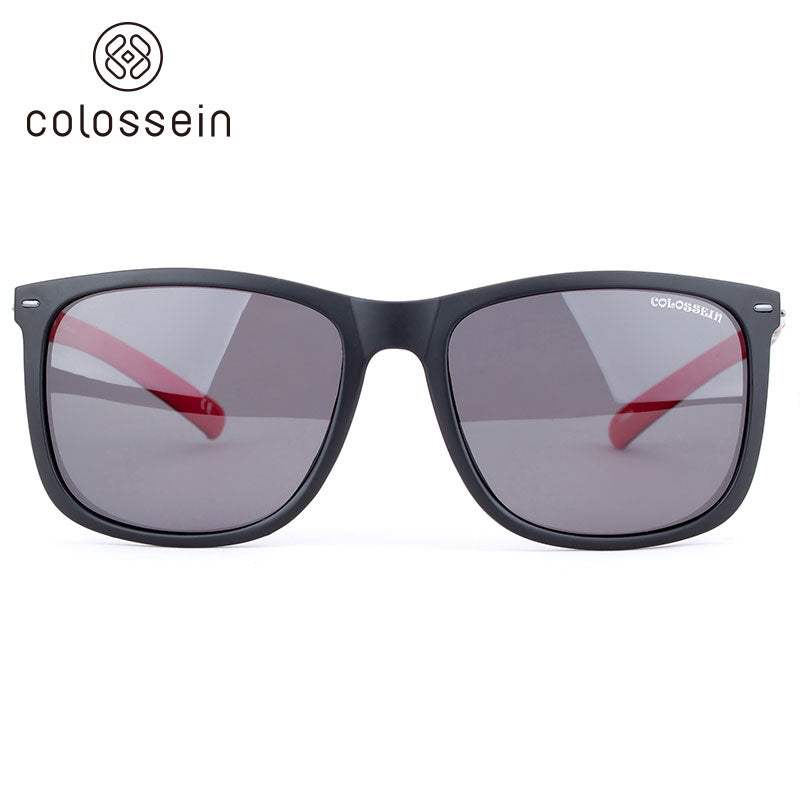 COLOSSEIN Fashion Sunglasses TR90 Light weight Frame Polarized Lens - Colossein Fashion polarized Sunglasses Vintage  Retro handcraft for men women