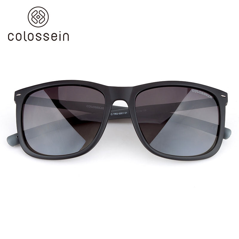 COLOSSEIN Fashion Sunglasses TR90 Light weight Frame Polarized Lenses - Colossein Fashion polarized Sunglasses Vintage  Retro handcraft for men women