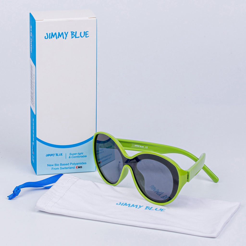 JIMMY BLUE Sunglasses Children Retro Vintage Metal Eyewear Suit Under 12 Years For Kids UV400 Protection