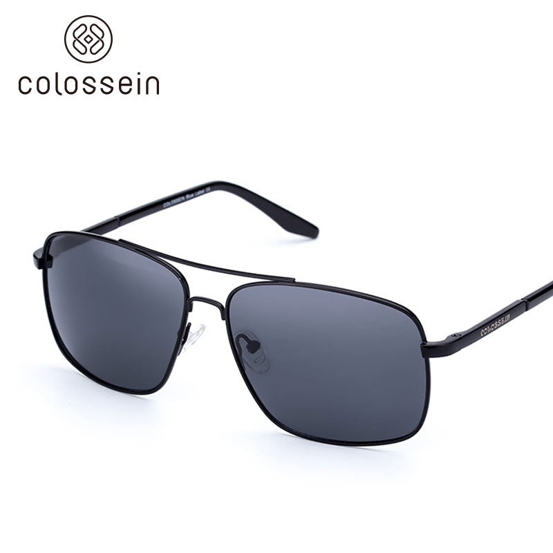 Vintage Polarized men Sunglasses 2018  Mirror Lens - Colossein Fashion polarized Sunglasses Vintage  Retro handcraft for men women