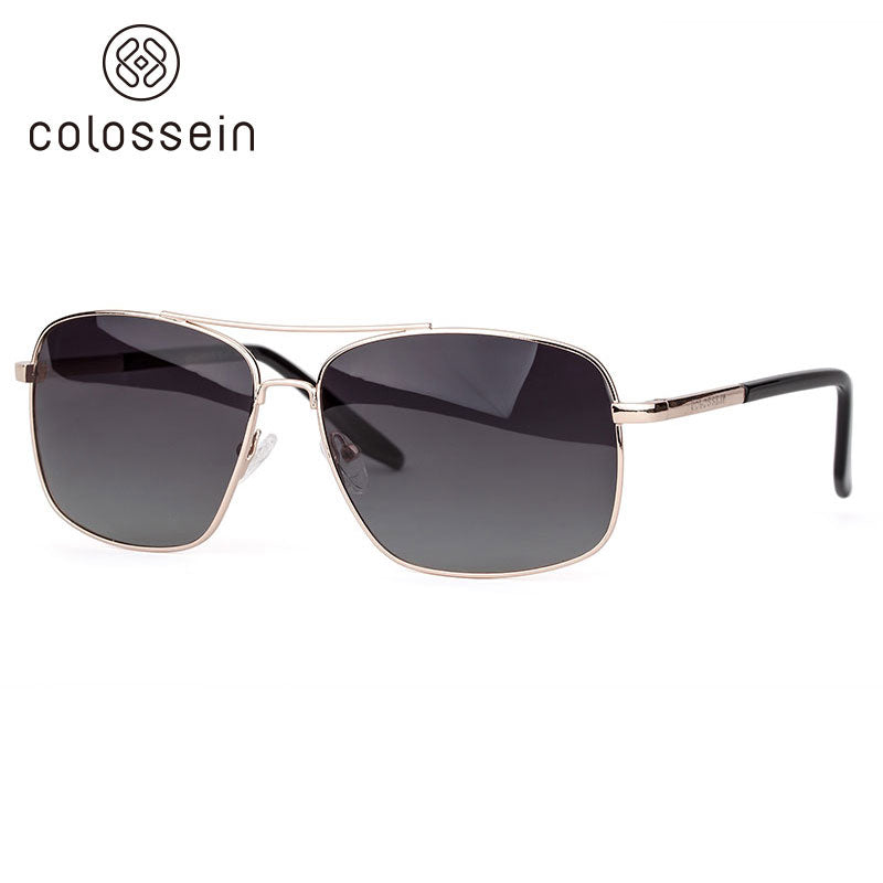 Vintage Mirrored Polarized Sunglasses 2018 for men - Colossein Fashion polarized Sunglasses Vintage  Retro handcraft for men women
