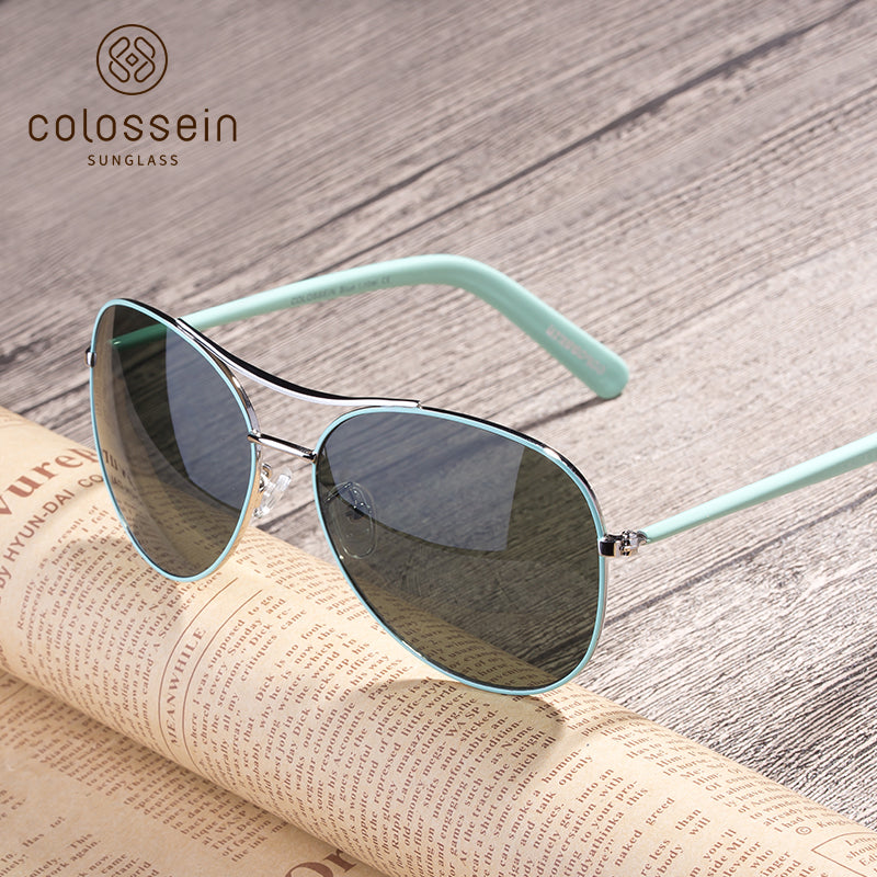 Classic Fashion Sunglasses for women 2018 - Colossein Fashion polarized Sunglasses Vintage  Retro handcraft for men women