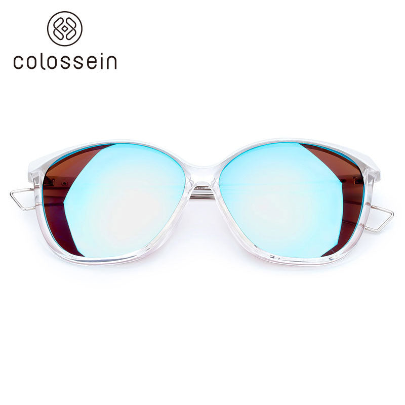 COLOSSEIN Brand Designer Retro Cat Eye Style Fashion Sunglasses - Colossein Fashion polarized Sunglasses Vintage  Retro handcraft for men women