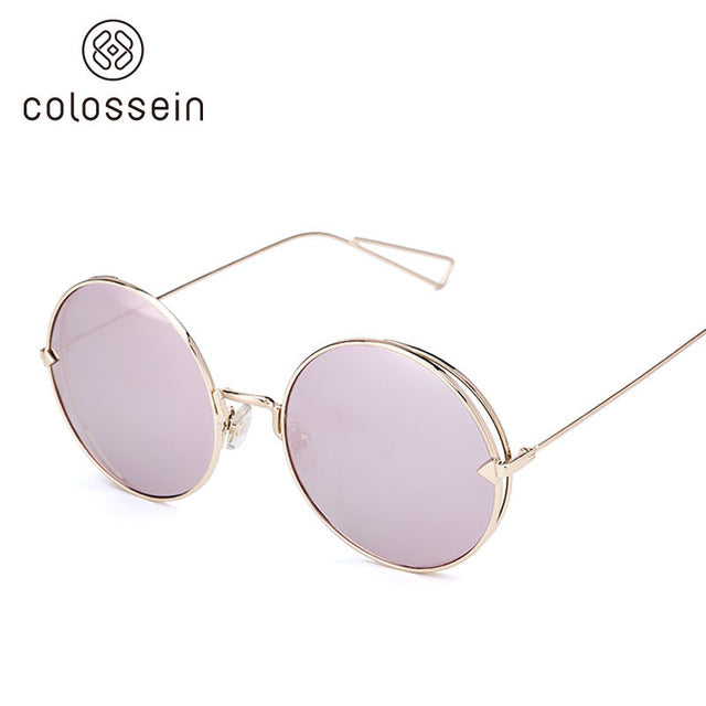 COLOSSEIN Vintage Classic Mirror Fashion Sunglasses for women - Colossein Fashion polarized Sunglasses Vintage  Retro handcraft for men women