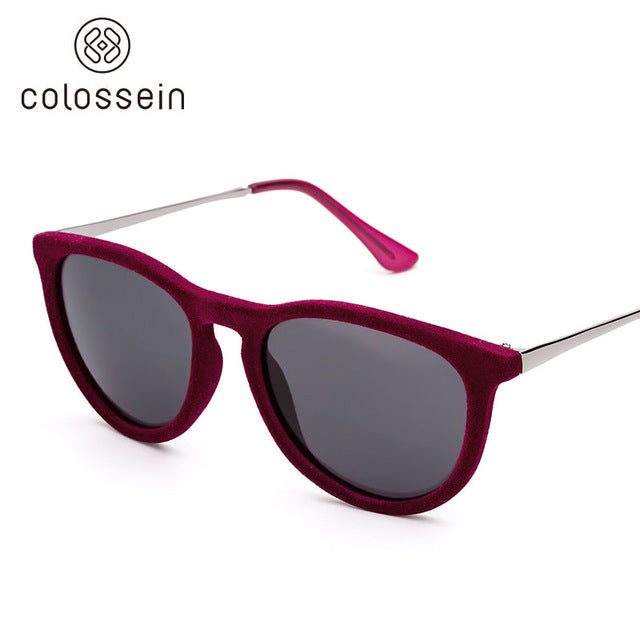 Vintage Retro Cat Eye Sunglasses for women - Colossein Fashion polarized Sunglasses Vintage  Retro handcraft for men women