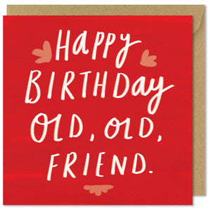 square red birthday card