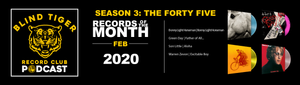 Season 3:  The Forty Five - February 2020 Records of the Month