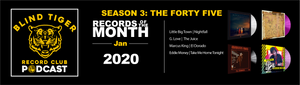 Season 3: The Forty Five - January 2020 Records of the Month