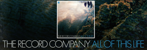 July's Alternative Record of the Month - The Record Company - All of This Life (Ltd. Ed. blue marble-colored vinyl)