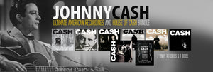 Collector's Series: The Johnny Cash Ultimate American Recordings and House Of Cash Bundle