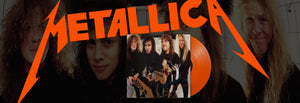 May's Rock Record of the Month - Metallica - $5.98 E.P. Garage Days Revisited (Ltd. Ed. Remastered 180G Red-Orange Colored Vinyl)