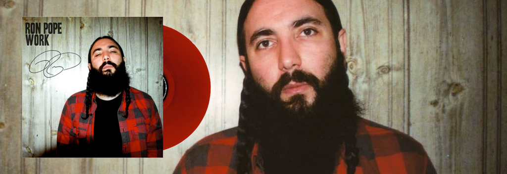 November Discover Record of the Month - Ron Pope - Work (Red vinyl)