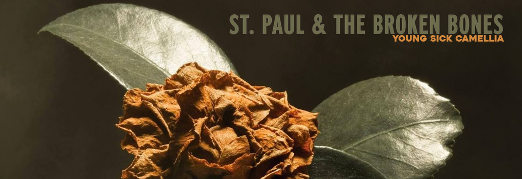 October Jazz Soul & Blues Record of the Month - St. Paul & the Broken Bones - Young Sick Camellia (Ltd. Ed. brown vinyl)