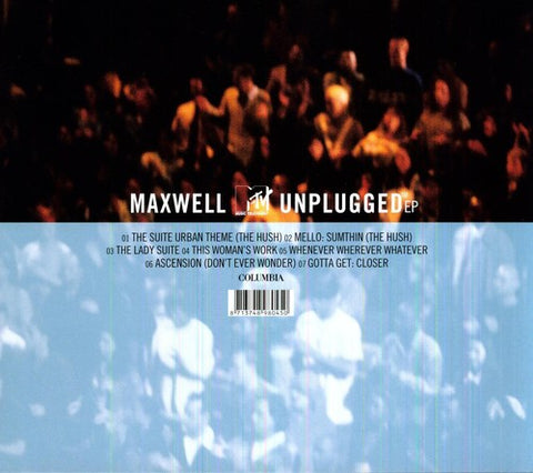 Maxwell - MTV Unplugged E.P. [Import]